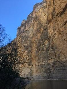 Santa Elena Canyon - Mexican cliff
