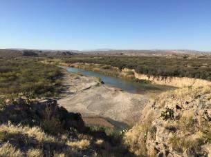 The Rio Grande near Boquillas Canyon
