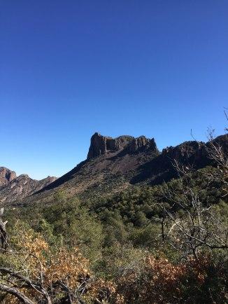Casa Grande Peak from Pinnacles Trail