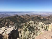 Looking SW from Emory Peak
