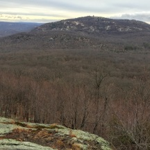 Bear Mountain from West Mountain