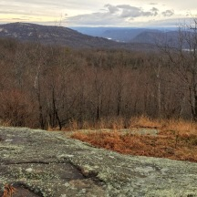 Bear Mountain and Hudson River from West Mountain