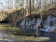 SECOND HIKE: More ice